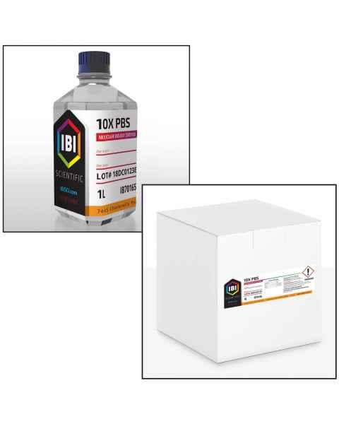 10X Sterile Phosphate Buffered Saline (PBS)
