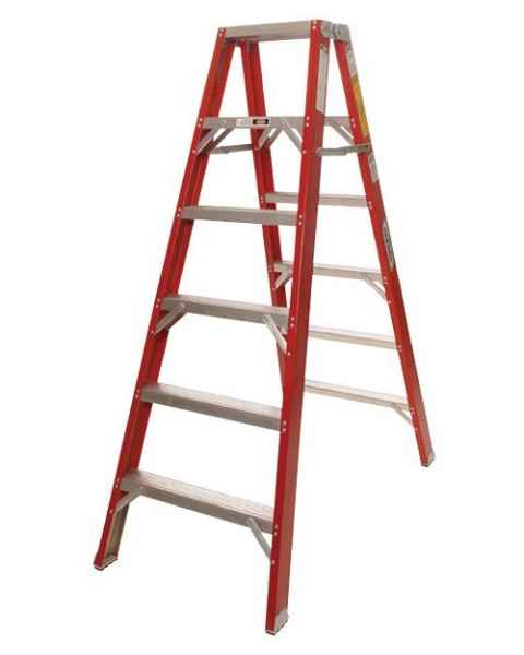 MRI Non-Magnetic Double Sided Fiberglass Ladder