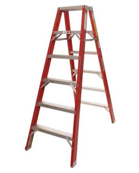 MRI Non-Magnetic Double Sided Fiberglass Ladder