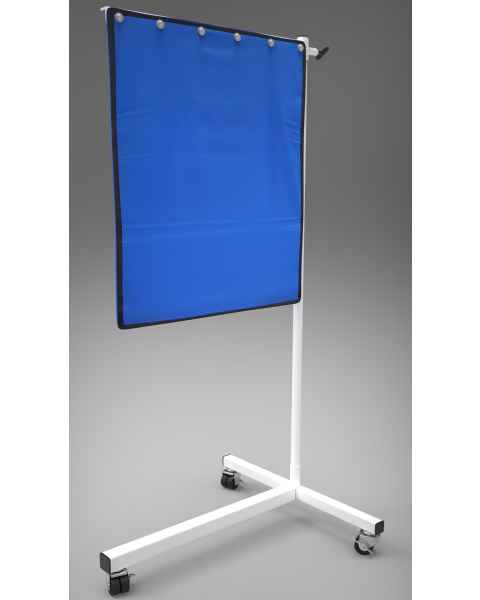 """Deluxe Mobile Lead Shield on T-Base 30"""" x 24"""" Panel"""