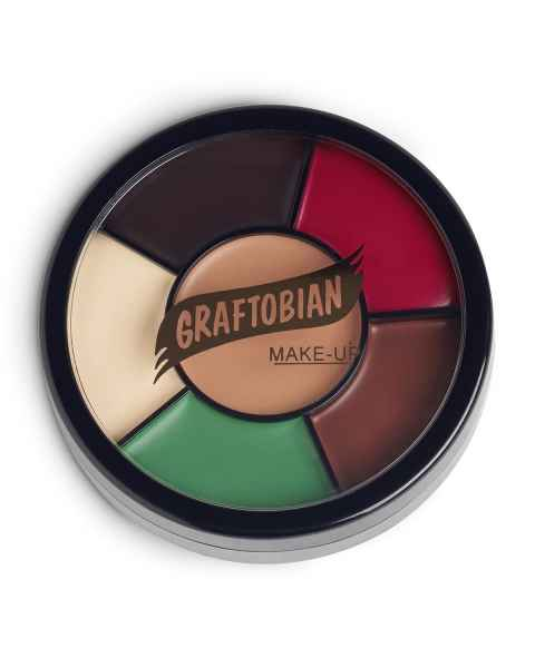 Life/form Moulage Grease Paint Makeup Wheel - Special Effects Shades - 1 oz.