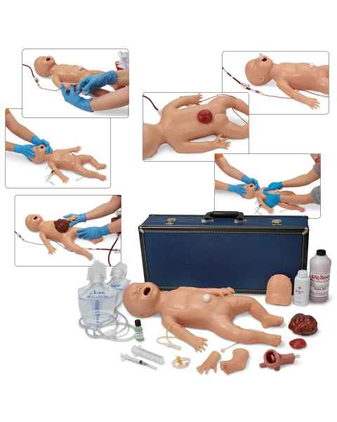 Life/form Newborn Nursing Skills and ALS Simulator