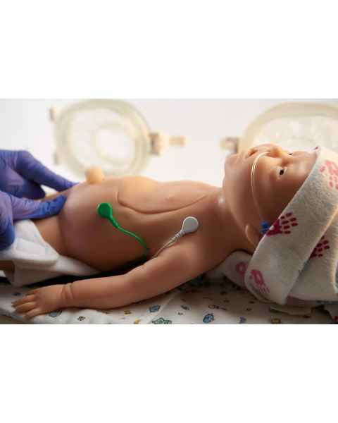 Life/form C.H.A.R.L.I.E. Neonatal Resuscitation Simulator with Interactive ECG Simulator