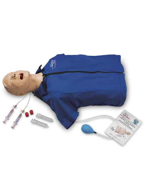 Life/form Advanced Airway Larry Torso with Defibrillation Features