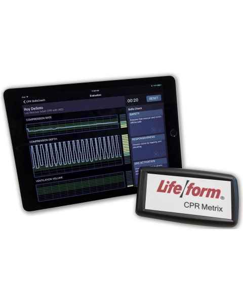 Life/form Deluxe Plus CRiSis Auscultation Manikin with CPR Metrix and iPad