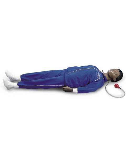Life/form CPARLENE Full-Size Manikin with CPR Metrix and iPad - Dark Skin