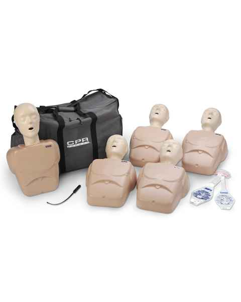 CPR Prompt TPAK 100 Adult/Child Training Pack - 5 Tan Manikins