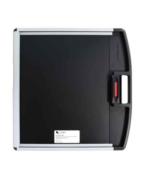 """Lock-N-Secure DR Panel Protector Without Grid - 17"""" x 17"""" with Handle, Carbon Fiber Insert"""