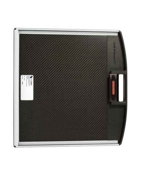 """Lock-N-Secure II DR Panel Protector Without Grid - 17"""" x 17"""" with Handle, Carbon Fiber Insert"""