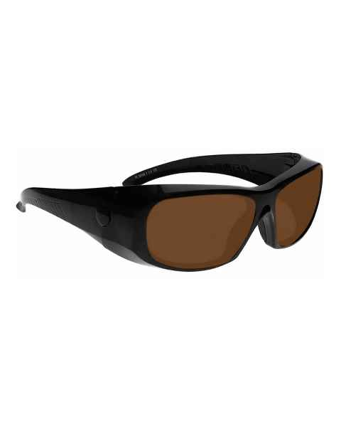 LS-IPLB-1375 IPL Brown Contrast Enhancement Laser Safety Glasses - Model 1375