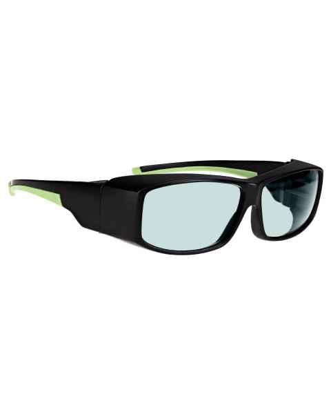AKG-5 Holmium/Yag/CO2 Laser Safety Glasses - Model 17001 Black