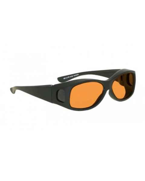 LSS-PSPBG-33-BK Laser Strike Blue/Green Beam Reduction Glasses - Model 33 - Black Frame