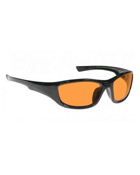 LSS-PSPBG-703-BK Laser Strike Blue/Green Beam Reduction Glasses in Black - Model 703