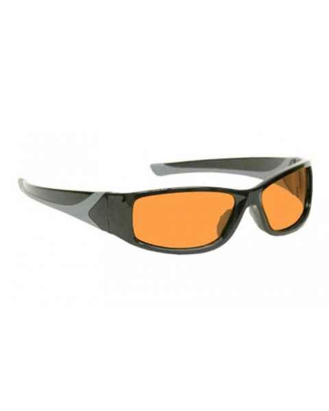 LSS-PSPBG-808-BK Laser Strike Blue/Green Beam Reduction Glasses Model 808 - Black Frame
