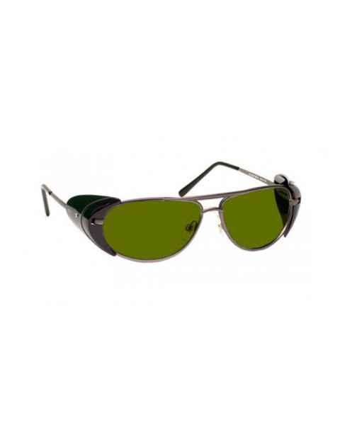 LSS-PSPBGR-600 Laser Strike Blue/Green/Red Beam Reduction Glasses - Model 600 - Pewter Frame