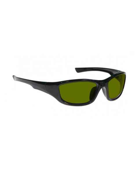 LSS-PSPBGR-703-BK Laser Strike Blue/Green/Red Beam Reduction Glasses - Model 703 - Black Frame