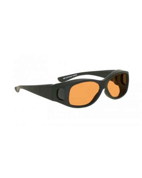 LSS-PSPG-33-BK Laser Strike Green Beam Reduction Glasses - Model 33 - Black Frame