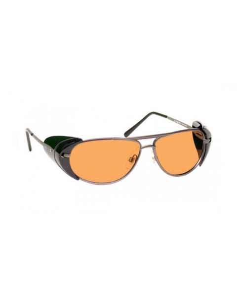LSS-PSPG-600 Laser Strike Green Beam Reduction Glasses - Model 600 - Pewter Frame