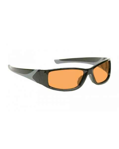 LSS-PSPG-808 Laser Strike Green Beam Reduction Glasses - Model 808 - Black Frame