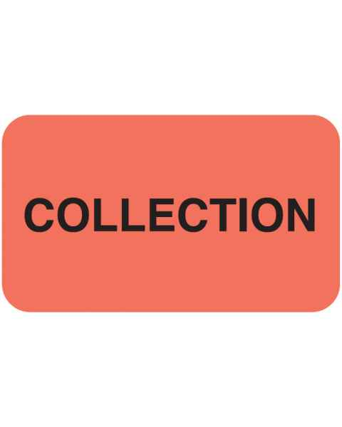 "COLLECTION Label - Size 1 1/2""W x 7/8""H"