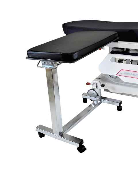 Model MCM310-MBCL Mobile Base Rectangle Arm & Hand Surgery Table with Clamps