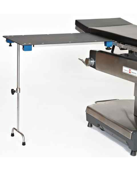 Rectangular Phenolic Hand And Arm Surgery Table with Double Tee Foot