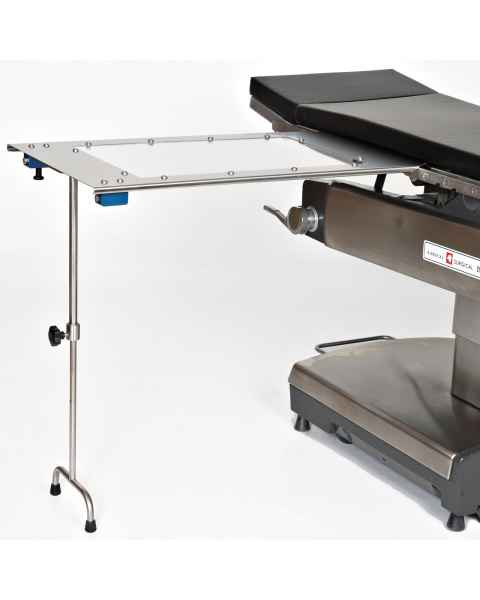 Under Pad Mount Arm & Hand Surgery Table with Tee Foot