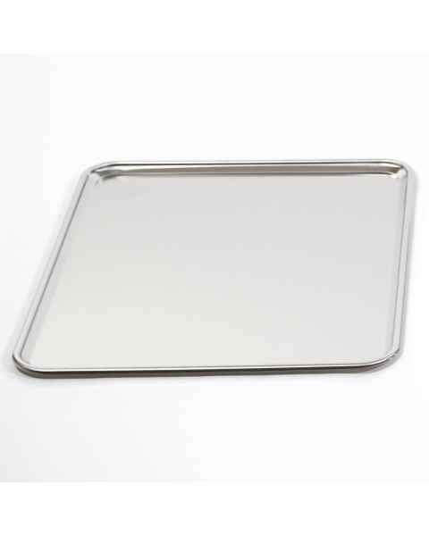 "MCM757 Stainless Steel Mayo Stand Replacement Tray - 20"" x 25"""