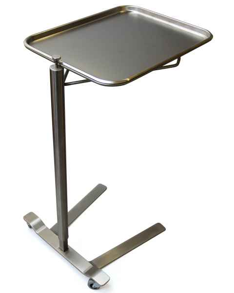 Stainless Steel Mayo Stand - Thumb Control