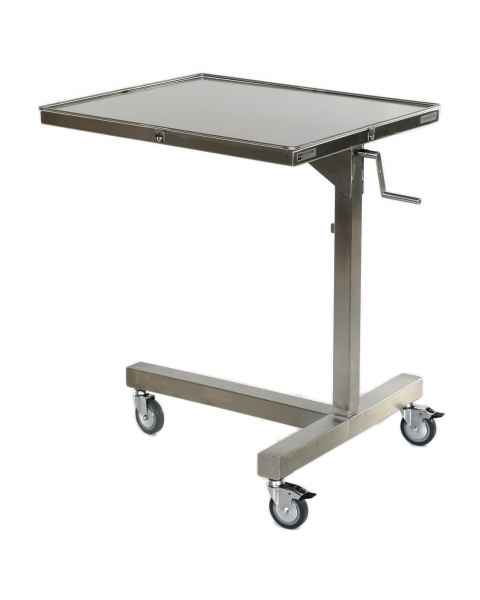 "MCM770 Stainless Steel Ventric Stand 30"" x 26"" Top Size"