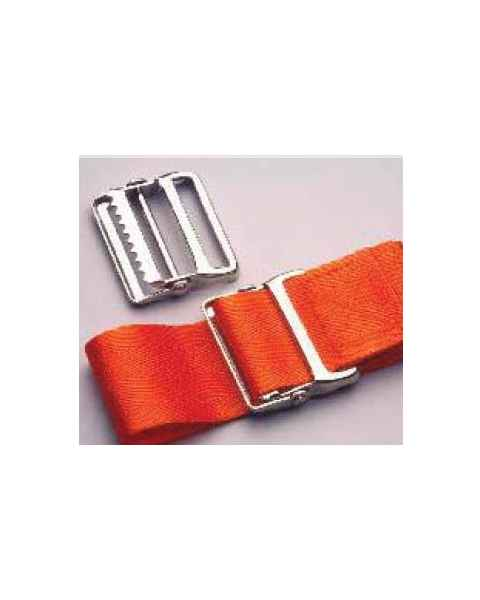 1-Piece Strap with Metal Drop Jaw Buckle