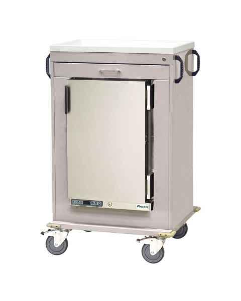 Harloff Model MH4100K Malignant Hyperthermia Cart with 1.8 Cubic Feet Follett Refrigerator, One Drawer, Key Lock