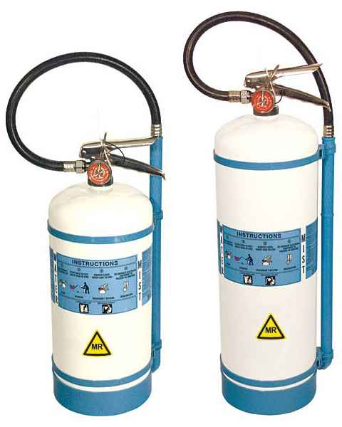MRI Certified Water Mist AC Fire Extinguisher