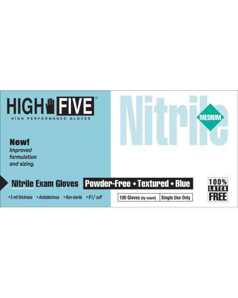 Nitrile Textured Premium Exam Gloves
