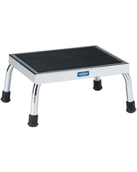 Pedigo Chrome Step Stool