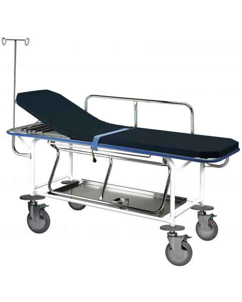Pedigo Transport Stretcher Non Height Adjustable with 4 Locking Casters