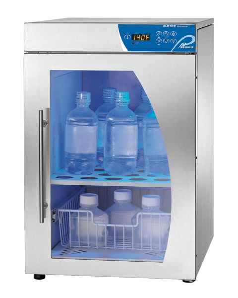 Pedigo Deluxe Fluid Warming Cabinet - 3.5 Cubic Feet - Window Glass Door