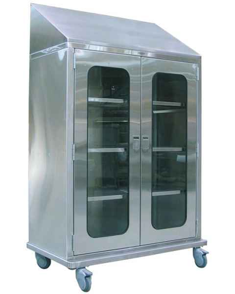 Pedigo Sloped Top Operating Room Cabinet With Casters