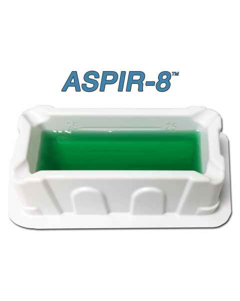 ASPIR-8 25mL Reagent Reservoir for 8-Channel Pipettes - Polystyrene