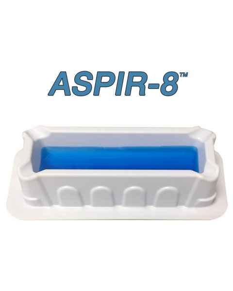 MTC Bio ASPIR-8 10mL Reagent Reservoir for 8-Channel Pipettes - Polystyrene