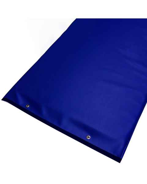 Techno Aide PAD-50 Blue Reinforced Upholstery Vinyl Table Pad