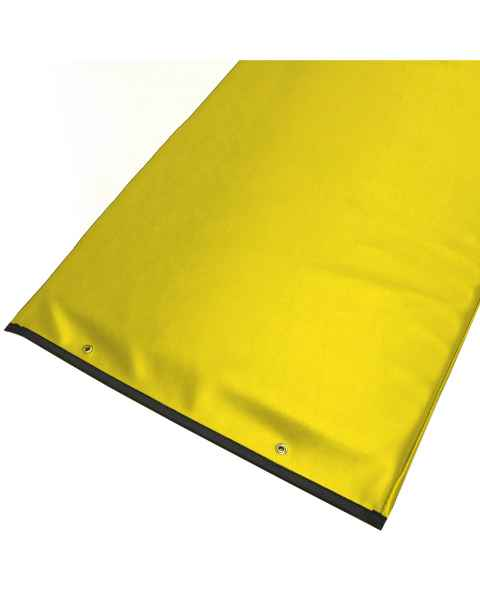 Techno-Aide PAD-52 Yellow Reinforced Upholstery Vinyl Table Pad