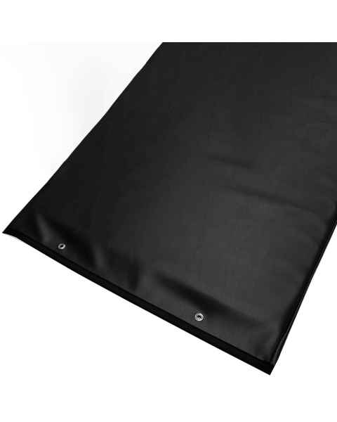 Techno-Aide PAD-55 Black Reinforced Upholstery Vinyl Table Pad