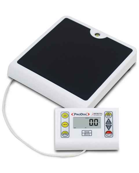ProDoc Low Profile Digital Physician's Scale with Remote Display