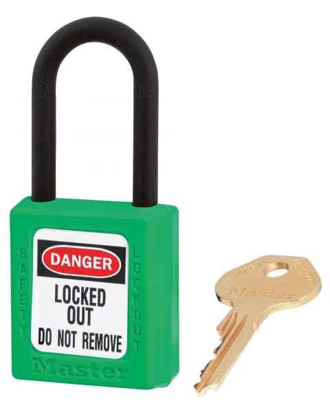 MRI Non-Magnetic Safety Padlock - Green