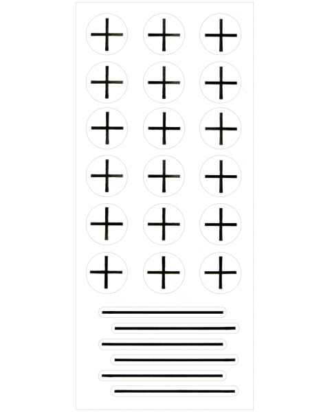 Suremark PortalMark Isocenter/Field Line Sheet Labels