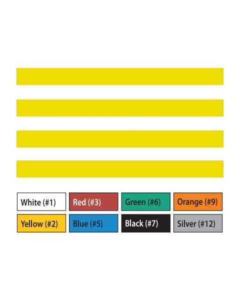 "Pre-Cut Magna Ribbon Strips - 3/8""H x 6""L"