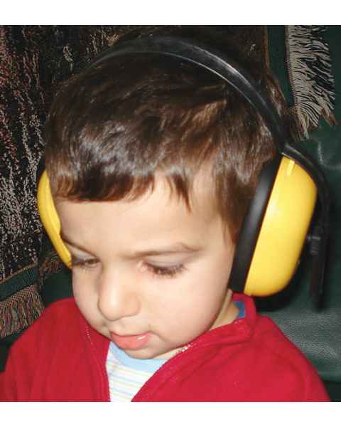 MRI-Safe Pediatric Noise Guard Headset