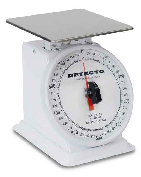 Top Loading Rotating Dial Scale Enamel Finish 1000 Gram Capacity