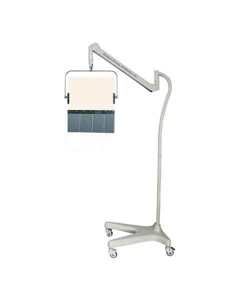 Model PTO-002 Square Arm Overhead Lead Acrylic Mobile Barrier with Lead Curtain